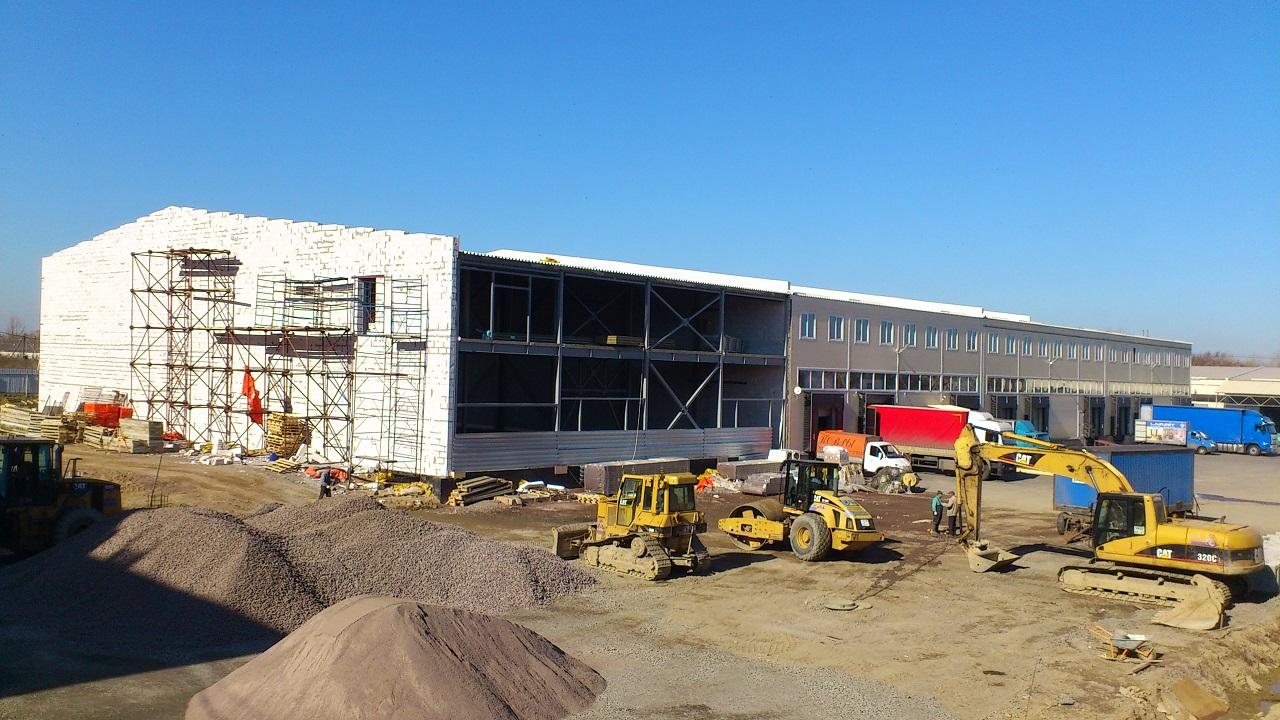 строительство модульного склада